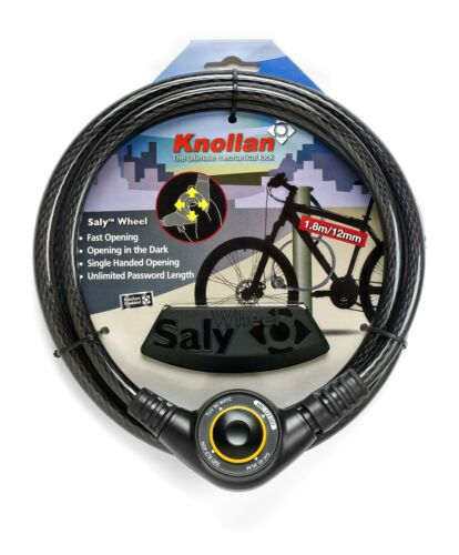 Bicycle Cable Combination Lock New Patent Joystick Resettable Code Saly Wheel