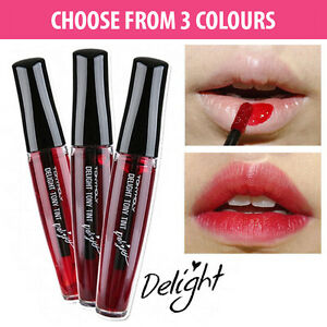 Tony moly delight tony tint lip stain lipstick 3 colours How to get rid of red lipstick stain