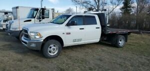 2012 DODGE 3500 HEAVY DUTY FLATDECK TRUCK