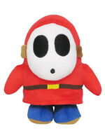 Sanei Super Mario All Star Collection - Ac25 - Shy Guy Stuffed Plush Doll