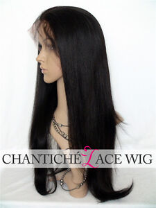 Brazilian Human Hair Lace Front Wigs Black Women Yaki straight wigs human hair