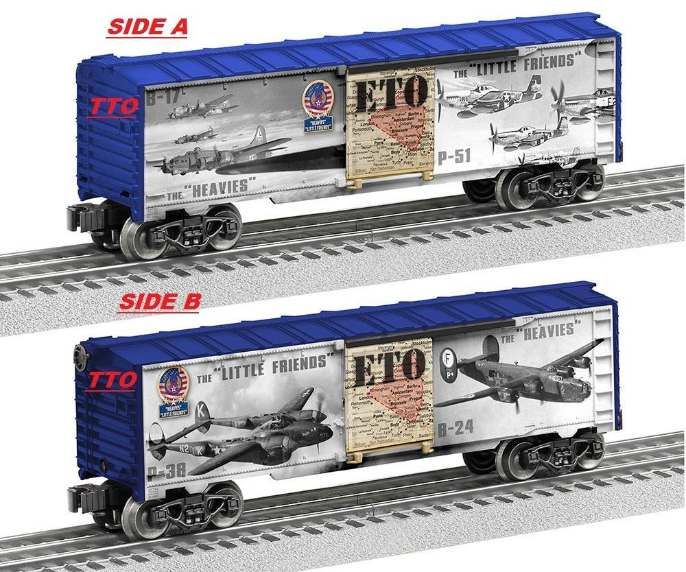 LIONEL 6-83784 Heavies & Little Friends Box Car WWII NEW