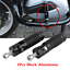 thumbnail 3 - Aluminum Folding Footpegs Rider Foot Rest Pegs Set Rearset For Dirt Pit Bike