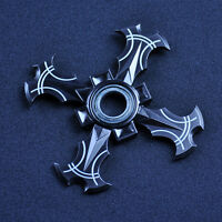 Naruto Shuriken Fidget Hand Spinner Ninja Stress Stuffer Desk Toy Cosplay Gifts