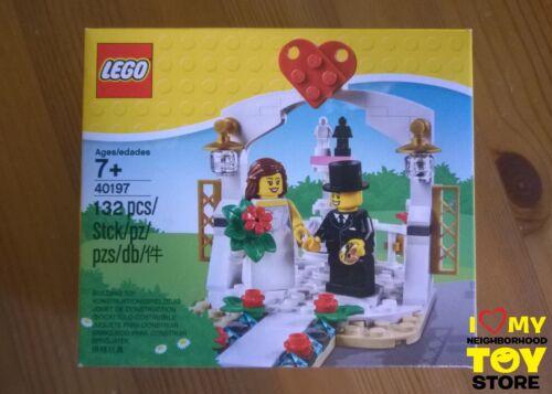 LEGO 40197 BOMBONIERA MINIFIGURE WEDDING FAVOUR SET IN STOCK 2018 - MISB