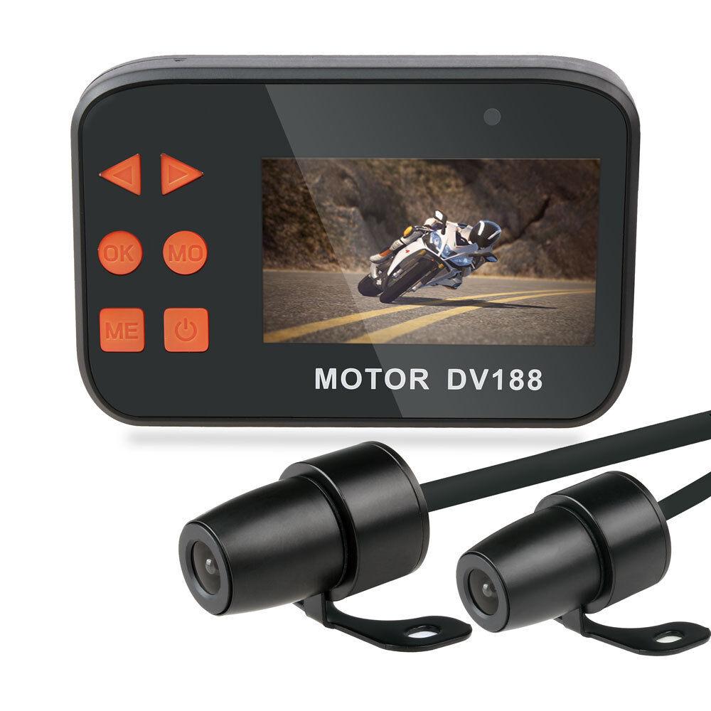 DV188 Camera Motorcycle HD 1080P Cam Video DVR Camcorder 2 Lens Loop Waterproof 1080p cam camcorder camera dv188 dvr lens loop motorcycle video
