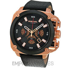 **NEW** DIESEL MENS BAMF CHRONOGRAPH ROSE GOLD WATCH - DZ7346 - RRP £275