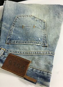 Polo-Ralph-Lauren-Jeans-Mens-32-34-Classic-867-Denim-Maidstone-Wash