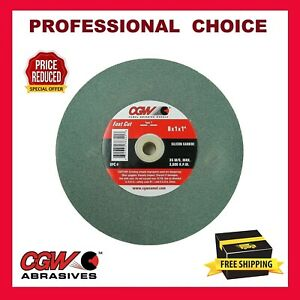 Fast Cut CGW 8 x 1 x 1 Aluminum Oxide Bench Grinding Wheel Various Choices