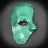 Party Mask Phantom Year Mardi Gras Masquerade Mask For Men Green J-6919