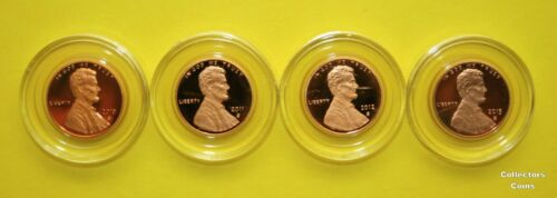 2010-2018 10 Coin S Lincoln Shield Cent Set w9 Proofs /& 1 Enhanced Uncirculated