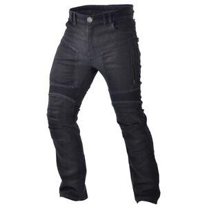 JEANS-Moto-Pantaloni-l32-Uomo-Stretch-abrasione-fisso-Biker-Uomo-Pantaloni-Pantaloni-Biker