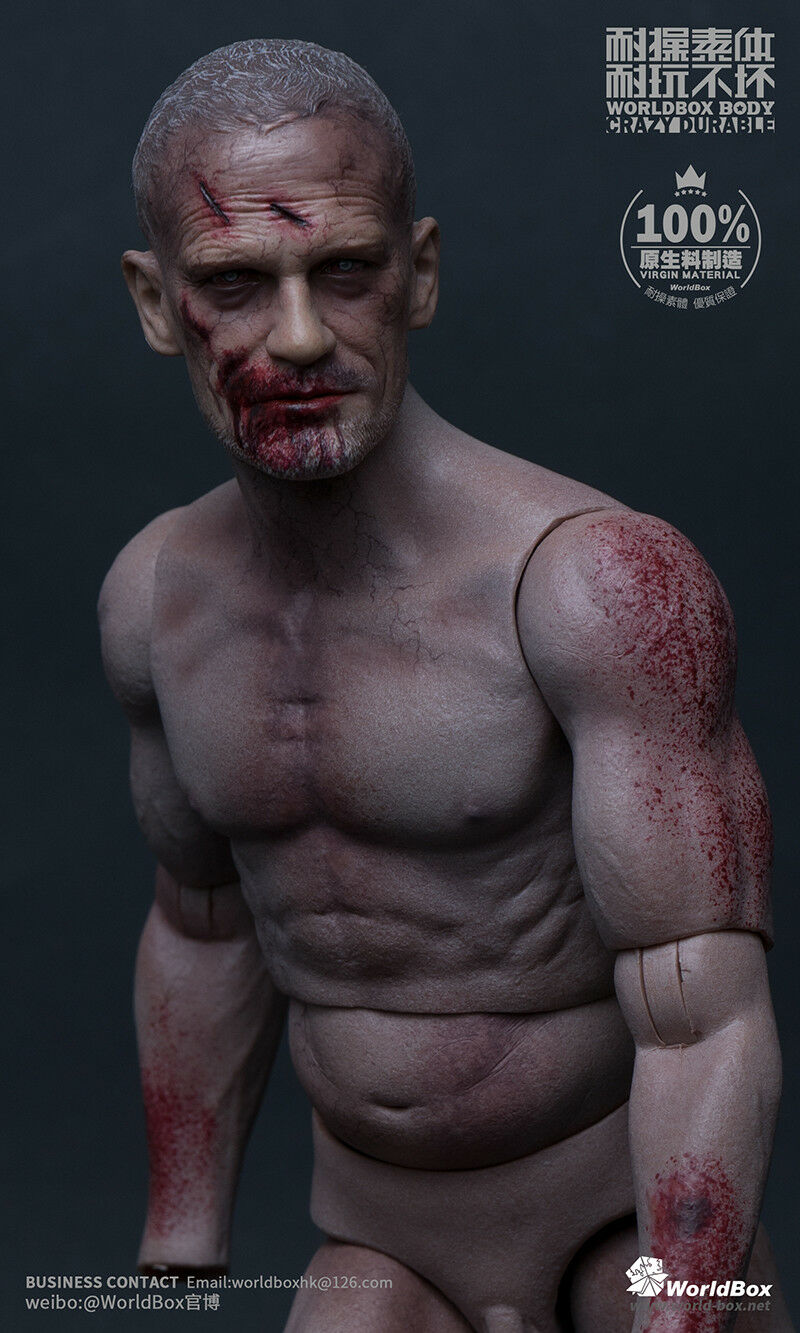 Worldbox AT022 Broke Hand The  Zombie Male Durable Body 1 6 Figure  aucune hésitation! achetez maintenant!