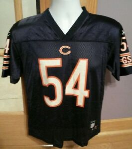 8086e186717 Image is loading Vintage-Chicago-Bears-Brian-Urlacher-Football-Jersey-Youth-