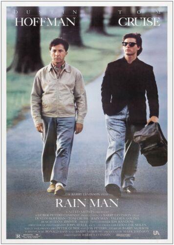 Rain Man Classic Movie Poster Art Print A0 A1 A2 A3 A4 Maxi