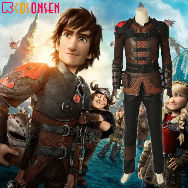 Cosonsen How To Train Your Dragon 3 Hiccup Costume Cosplay Halloween Outfits