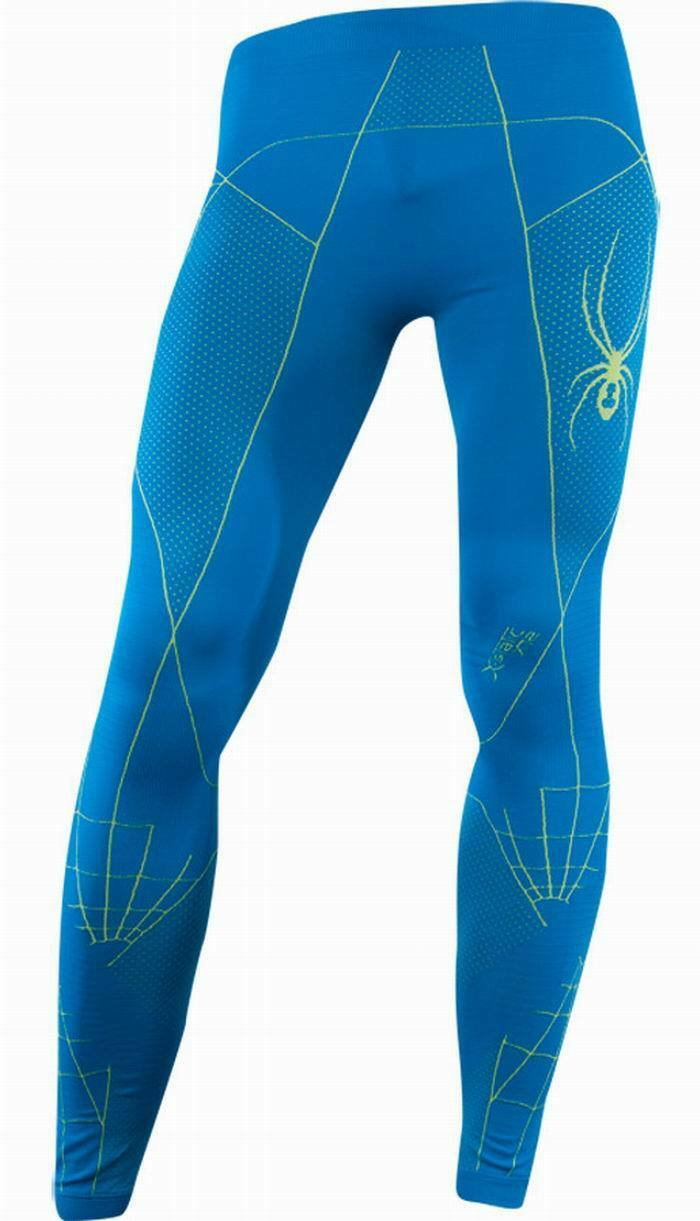 NEW SPYDER THERMAL BASE LAYER SLALOM X-STATIC XT2 PANT MENS XXL XXXL blueE