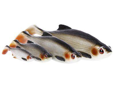 "pike,zander,perch,shad teez Savage Gear 3D roach paddle tail 4/"" 10 cm 1-4pcs"
