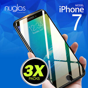 3-X-Genuine-Nuglas-Tempered-Glass-Screen-Protector-for-Apple-iPhone-7-8-Plus
