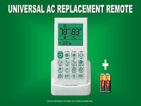 Universal Ac A/c Remote For Trane,fujitsu,hitachi,toshiba,sanyo, York,carrier,lg