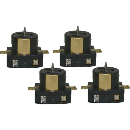 CEP 6369M 50 Amp 125-Volt//250-Volt UL//CSA Outlet Female Plugs 4-Pack