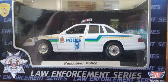 Motor Max 1//24 2010 Ford Crown Victoria Police Interceptor Diecast Car 76469