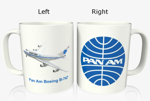 Pan Am Boeing 747 Coffee Mug
