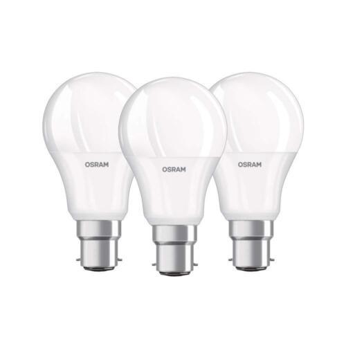 Osram LED Base Classic 9-60W 927 2700 Kelvin Warmweiss B22d 3er-pack