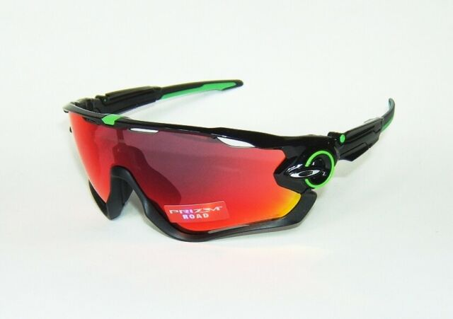 767b9515d34f OAKLEY JAWBREAKER MARK CAVENDISH POLISHED BLACK PRIZM ROAD SUNGLASSES OO9290 -10