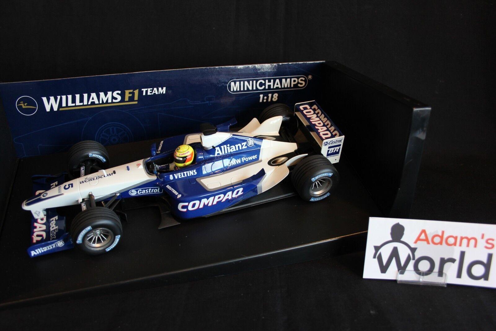 Minichamps Williams BMW FW23 2001 1 18  5 Ralf Schumacher (GER) 1st GP Win