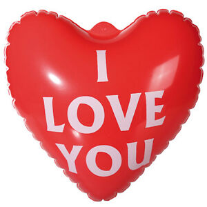 Bon Image Is Loading INFLATABLE HEART I LOVE YOU GIFT ANNIVERSARY VALENTINES