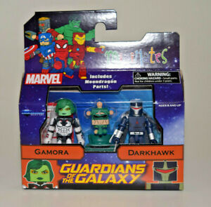 Marvel-Minimates-Series-79-Gamora-amp-Darkhawk-Guardians-of-the-Galaxy-2-pack-NEW