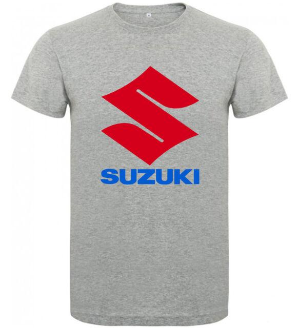 Camiseta Suzuki logo motor motos tipo A Hombre varias tallas y colores a057