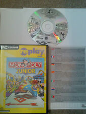 Monopoly Junior PC CD-ROM Near MINT Complete!