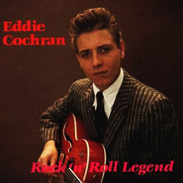 EDDIE COCHRAN Rock 'n' Roll Legend CD - NEW - 1950s - rockabilly