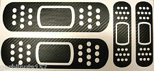 JDM 3-D CARBON FIBER Band-Aid Decal Set - Vinyl Bandage sticker car truck set