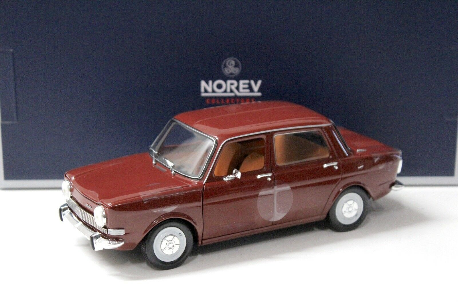 1 18 Norev Simca 1000 LS 1974 Amarante red red red NEW bei PREMIUM-MODELCARS 5ca3d3