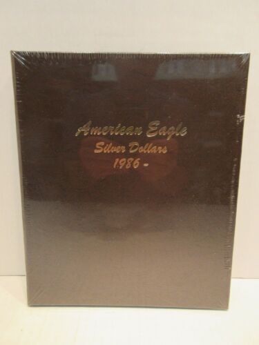 Dansco Coin Album 7181 American Eagle Silver Dollars 1986 to 2021 No Proof