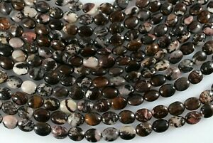 16 Strand of Australian Green Lace Jasper 10 x 14mm Oval Beads Strand of 30 Beads