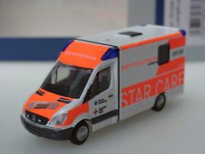 Rietze System Strobel RTW DRK Klinikum Ludwigsburg Baby NAW - 61739 - 1:87