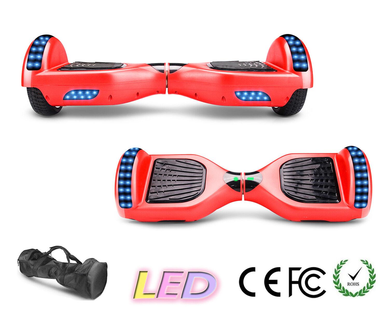 6.5/10 Zoll Skateboard Hover board Scooter Self Balance Elektro Skateboard Zoll Blautooth LED 53caad
