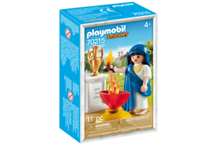 Playmobil-History-Hestia-griechische-Goettin-70215-Neu-amp-OVP-Sonderfigur-MISB