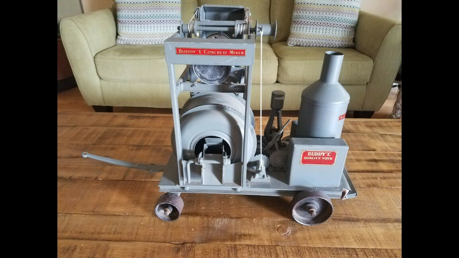 1920's Buddy L Concrete Mixer