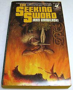 Jaan-Kangilaski-The-Seeking-Sword-US-Ballantine-Fantasy-1st-Pbck-Feb-1977