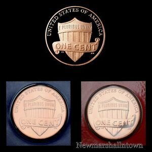 2016 P+D Lincoln Shield Penny Mint Set ~ PD in Mint Wrappers ~ No S Proof