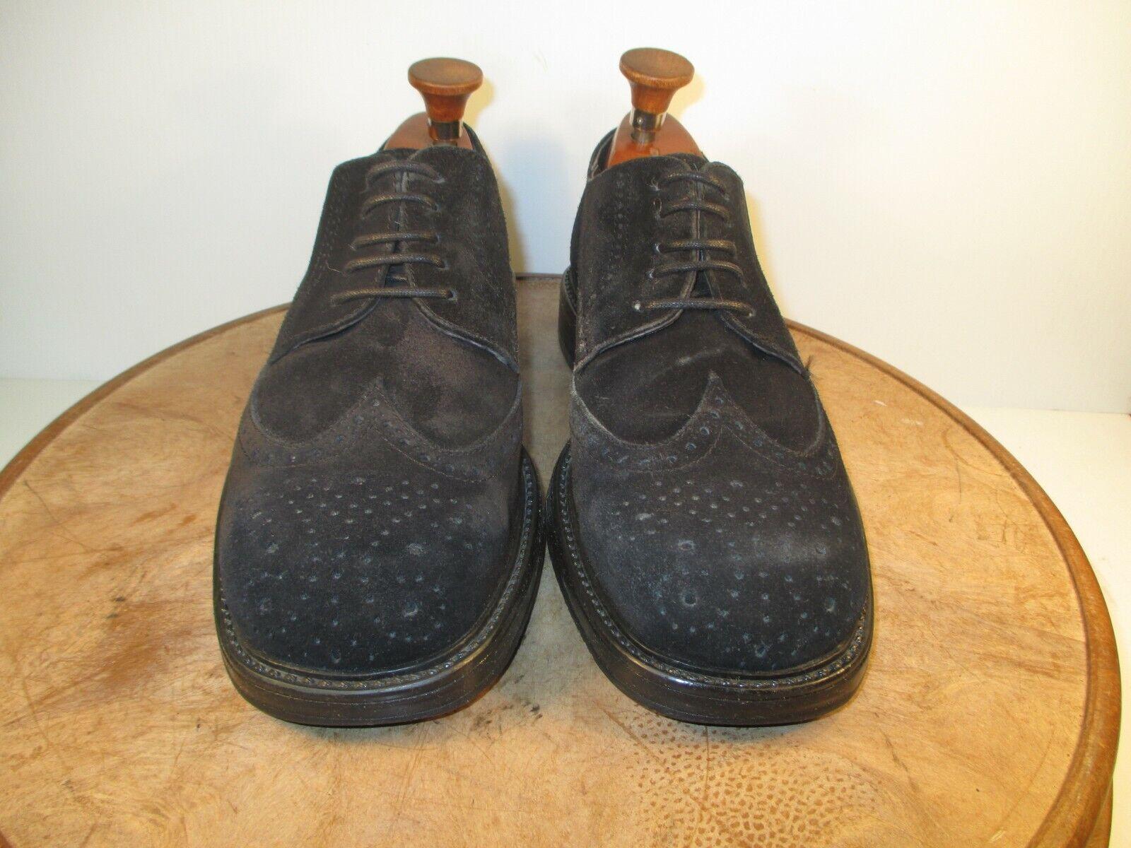 Bjorn  Borg Negro de cuero de gamuza extremos del ala Oxford Zapatos Talla 8 EE. UU. UE 41  Envío y cambio gratis.
