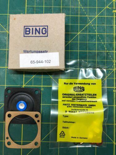 Ersatzteile für Wacker Vergaser Typ Bing WM80 Wartungssatz
