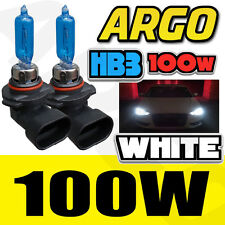 HB3 100W 9005 XENON WHITE MAIN / HIGH BEAM HEADLIGHT BULBS DUCATI Biposto 749 H5