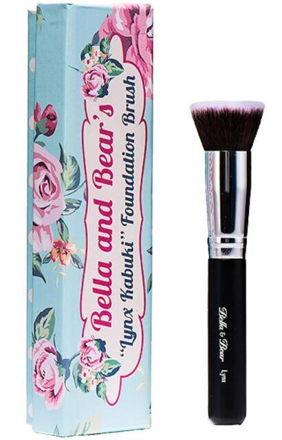 Bella and Bear Foundation Brush - Our Professional Kabuki Flat Stippling Brush W