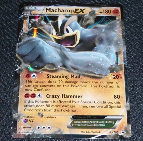 Pokemon Card XY108 Machamp EX Excellent Promo